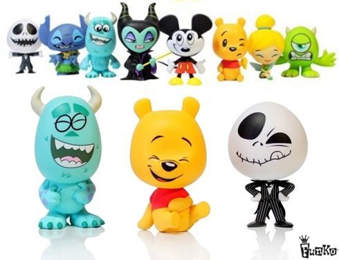 Disney Pixar: Novos mini figuras com bonecos fofinhos!