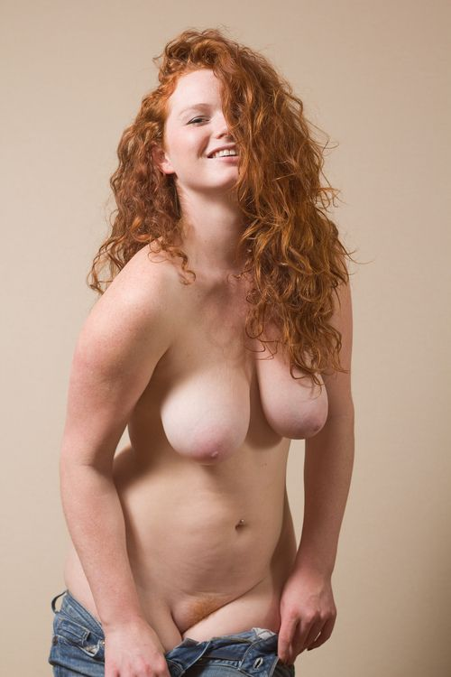 image Pudgy redheaded slut bitch shafted on the couch