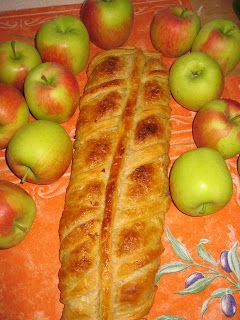 Rezepte vom Dinkelmännchen: Apfelstrudel mit Dinkelblätterteig