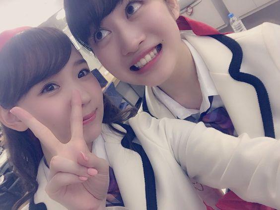 Mai Odan x Chihiro Kawakami  https://twitter.com/maichi_2014/status/722231368814448641