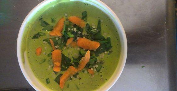 Spinach Hemp Soup