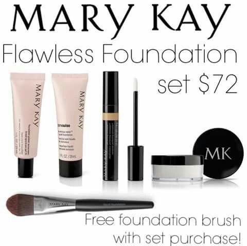 Mary Kay Foundation Set. www.marykay.com/carmencusmano