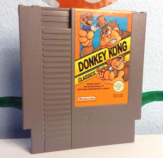 Great classics! This cartridge comes with Donkey Kong and Donkey Kong Jr.. And…