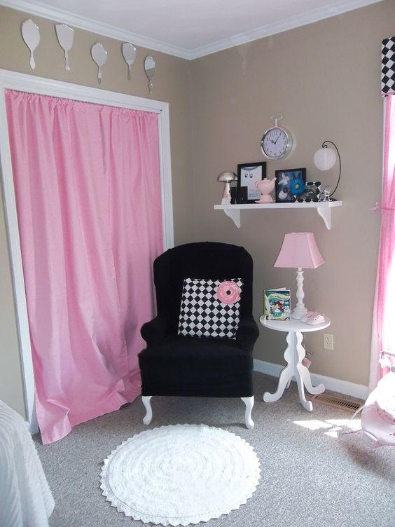 Curtains instead of closet doors | My projects | Pinterest | Doors ...