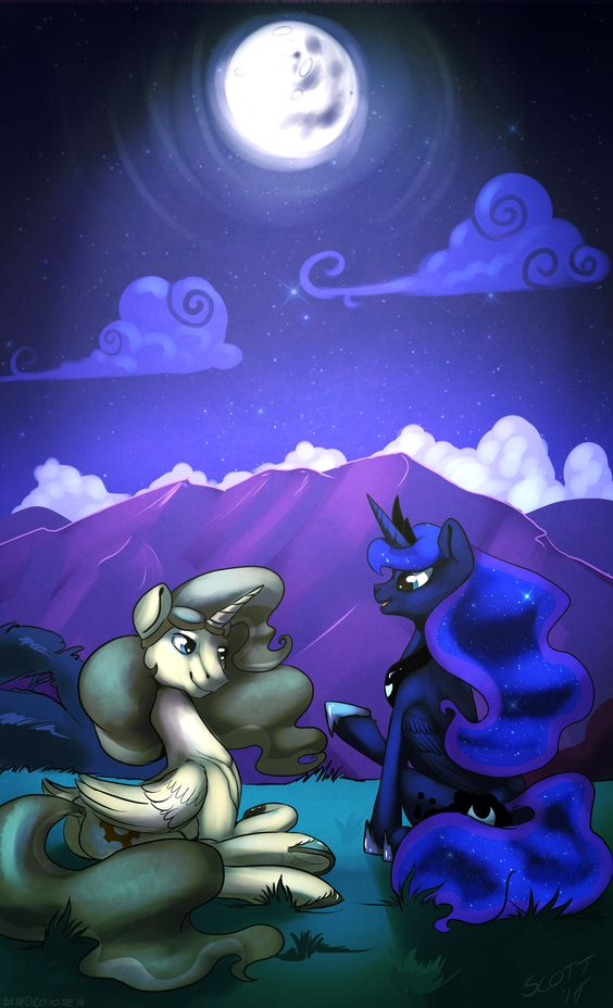 The Tale of Nightmare Moon by BlindCoyote.deviantart.com on @DeviantArt