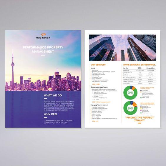 Sleek Property Management Corporate Flyer by morsomdesign