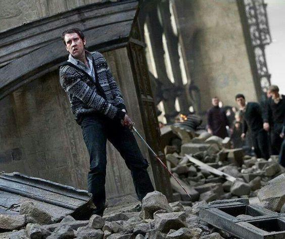 Neville Longbottom standing up to Voldemort