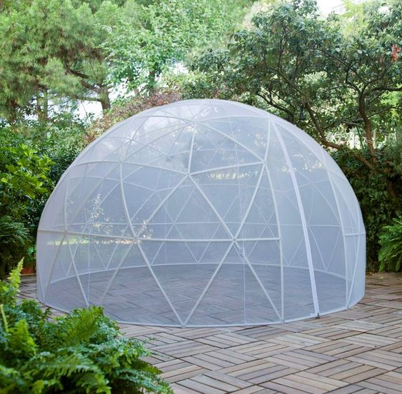 Garden Igloo Zanzariera Geodesic Dome Pinterest Gardens and