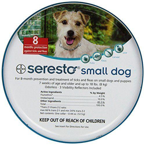 Bayer Seresto Flea and Tick Collar for Pet, Small Dog Bayer http://www.amazon.com/dp/B00B8CG58U/ref=cm_sw_r_pi_dp_BWztwb12DHZ24