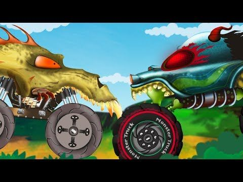 Haunted House Monster Truck Cartoon The Burglar Car Stories For Children By Kids Channel Monster Trucks Monster Truck Bedroom Monster Trucks Birthday Party