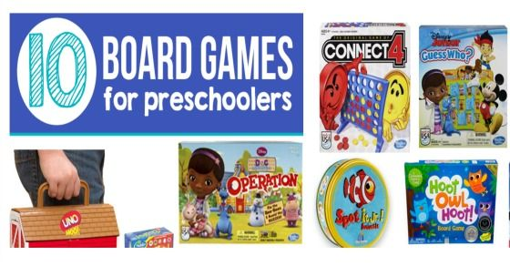 10 of The Best Board Games for Preschoolers - Kids Activities Blog Add Let's Potty! the potty training game to the list!