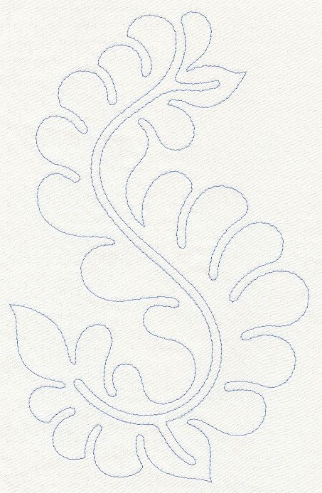 feather quilting machine embroidery designs