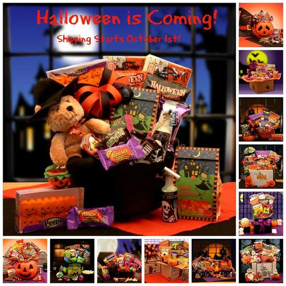 ***Halloween is Coming*** Halloween Gift Baskets in store now! Shipping starts October 1st. Come check them out! They are SPOOKtacular!!! Order Today -                               www.Love-Gift-Baskets.com