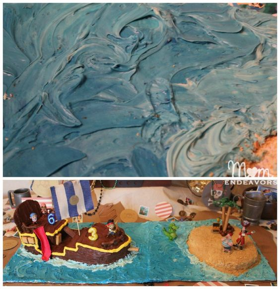 Cake decorating - Making Bucky and Pirate Island jake and the neverland pirates