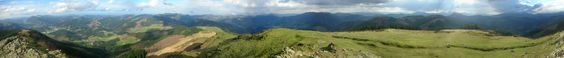 Cima monte Kalamua en Eibar