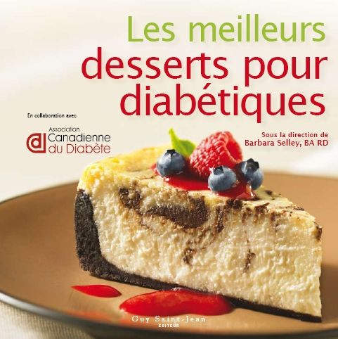 desserts on