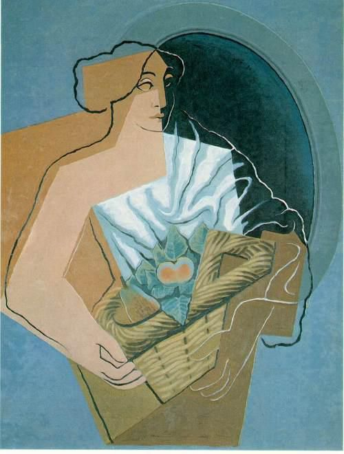 Woman with basket (1927)