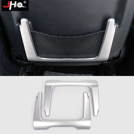 Abs Chrome Seat Back Storage Frame Cover Trim For Jeep Grand Cherokee 2014 2018 With Images
