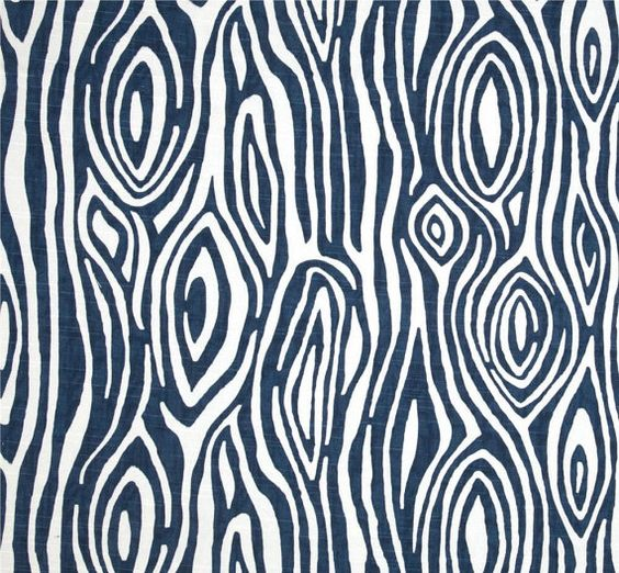 navy blue white woodland modern home decor fabric by the yard 54 cotton