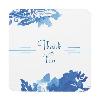 Thank You Beverage Coaster - thank you gifts ideas diy