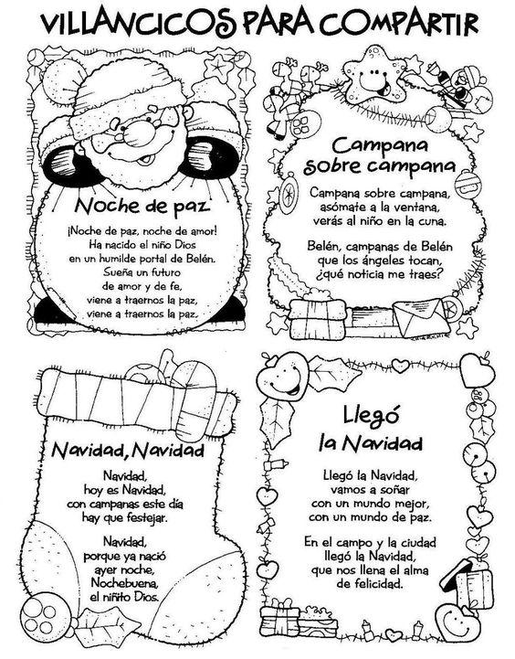 menta ms chocolate recursos para educacin infantil villancicos para navidad