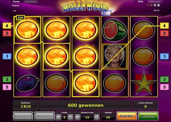 Hollywood Star im Test (Novoline) - Casino Bonus Test