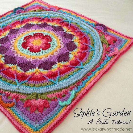 Mandala a Crochet: 10 Patrones Gratis - Arte Friki