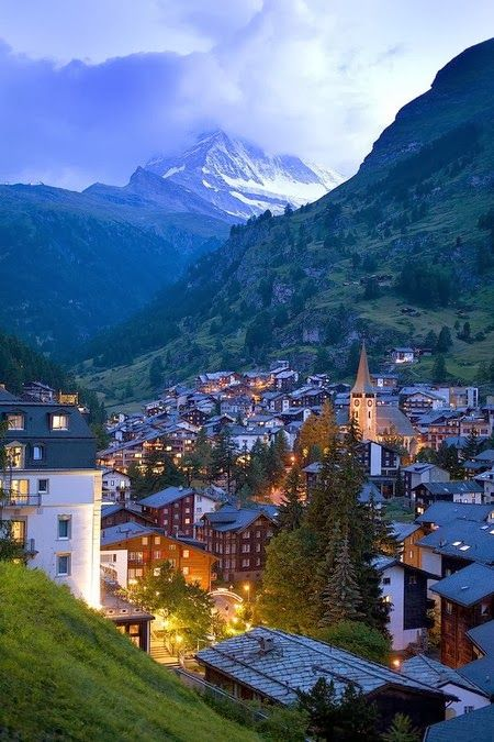Zermatt is a municipality in the district of Visp in the German-speaking section of the canton of Valais in Switzerland. It has a population o...
