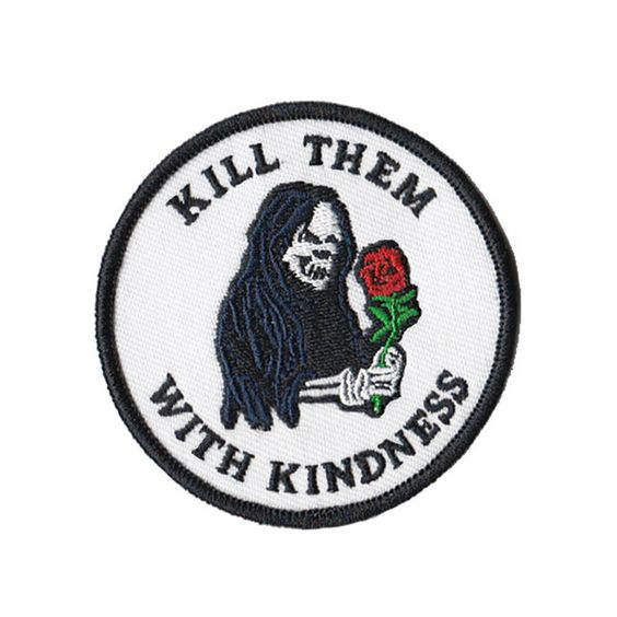 KINDNESS PATCH – DRTY #patches #patchgame #EmbroideryPatch