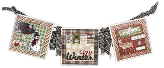 Warm and Cozy 5x5 Tiles - click through for project instructions.