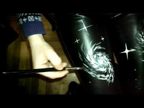 Painting my trousers