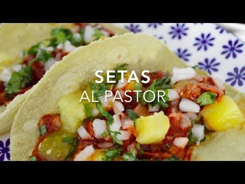 Tacos Al Pastor Veganos Los Más Ricos Fáciles De Todos Recetas Vegetarianas Mexicanas Recetas Vegetarianas Comida Vegana Mexicana