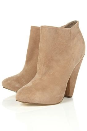 ADORE Suede Beige Ankle Boots - Boots - Shoes - Topshop - StyleSays