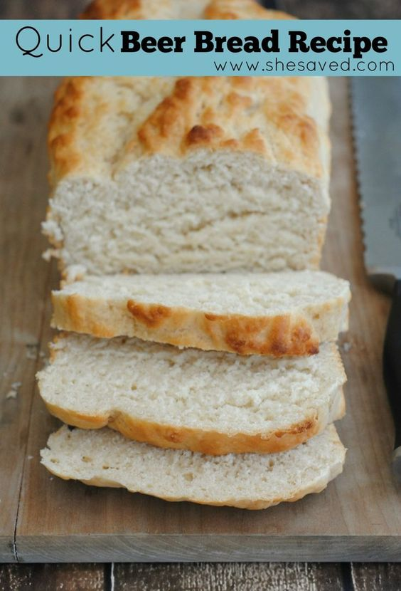 This quick beer bread recipe is an awesome one to have on hand for those times when you need a delicious bread quickly. Just a few ingredients, it is the easiest bread recipe ever!