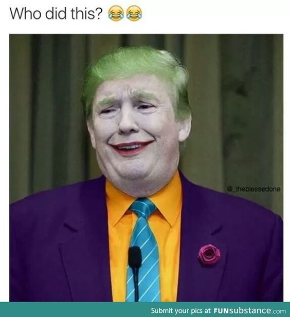 Trump the joker: