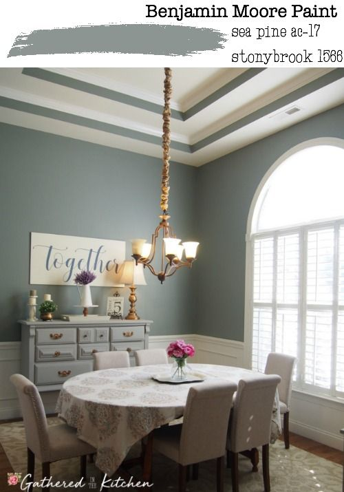 Our Neutral Paint Color Scheme Gathered In The Kitchen Dining Room Wall Color Dining Room Colors Dining Room Paint Colors