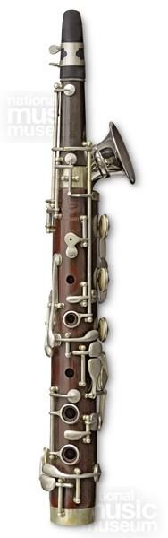"""Octavin 1926. The octavin is described as a """"woodwind instrument of the saxophone type, which has become very popular for use with the 'Jazz' Orchestra. In tone between the Saxophone and Clarionet"""