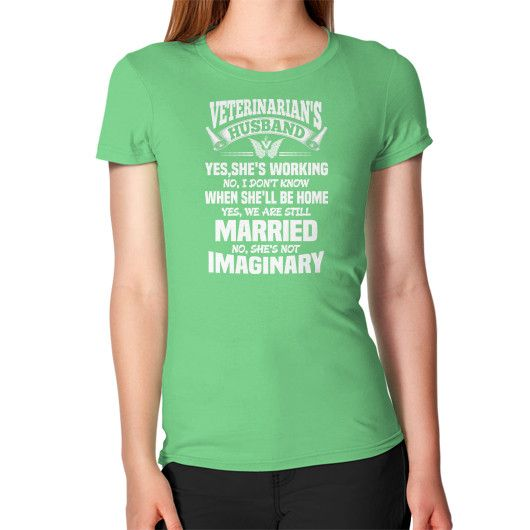 HUSBAND Veterinarian Women's T-Shirt