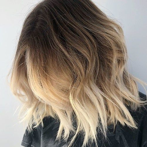 25 Brown And Blonde Short Hair Beautiful Brown To Blonde Ombre Short Hair Blonde Ombre Short Hair Short Ombre Hair Short Hair Balayage