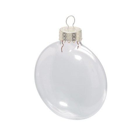 Buy Bulk Darice Diy Crafts Clear Glass Disc Ornaments 3 1 8 Inches X 6 Pieces Per Box X 24 Boxes Clear Glass Ornaments Clear Christmas Ornaments Christmas Ornament Sets