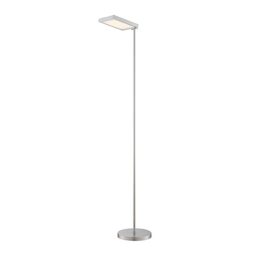 Laik Aluminum LED Floor Lamp Litesource Armchair/Task Floor Lamps Lamps - Lite Source Laik Aluminum LED Floor Lamp Lampade Da Terra, LED E
