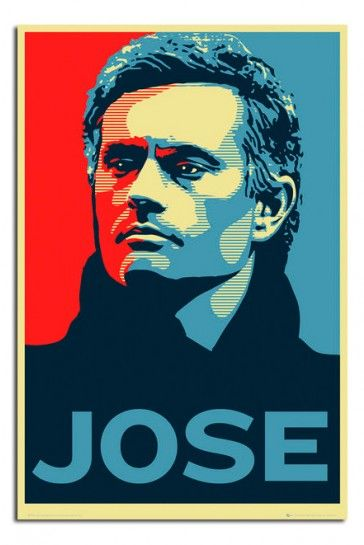 Chelsea FC Jose Mourinho Poster