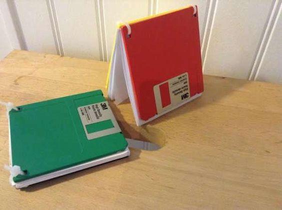 Bloc-notes disquette