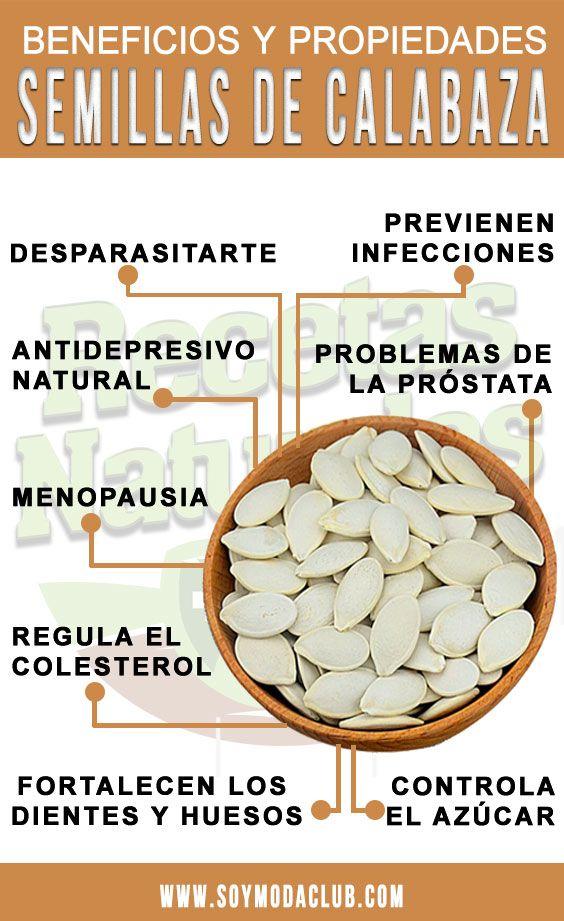 Semillas de auyama para bajar de peso