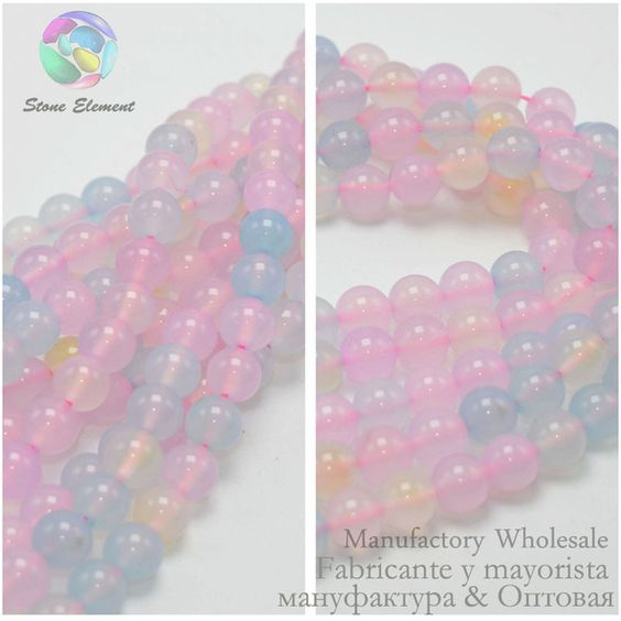 Mixed Color Agate Round Beads 6MM / 8MM / 10MM