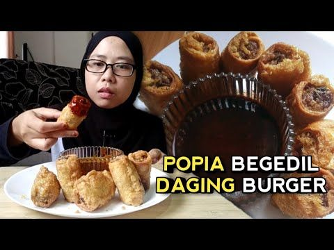 Daging Burger Tanpa Lemak Paling Sempoi Dan Mudah Untuk Dicuba Homemade Recipes Homemade Burger