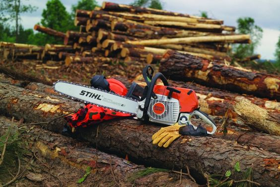 Stihl ms chainsaw corner pinterest