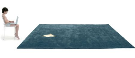 Global Warming Rug by NEL for Nanimarquina