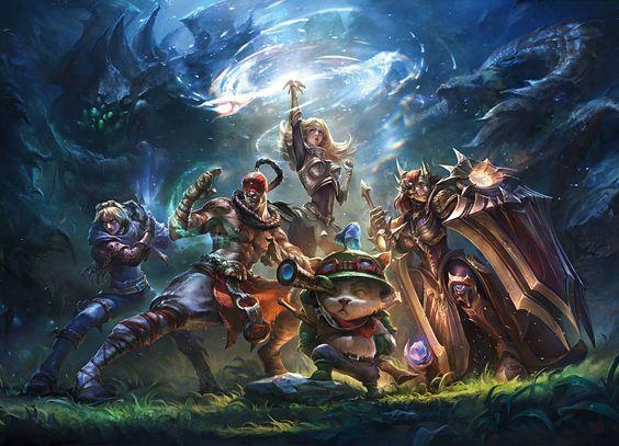 Die Kunst von League of Legends