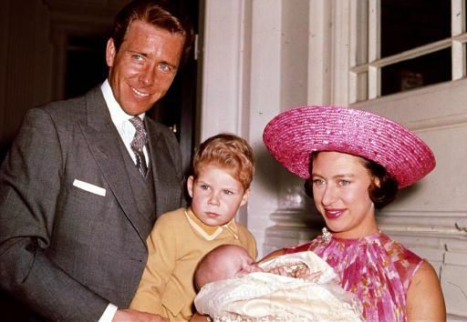 Sarah Armstrong Jones christened (to Princess Margaret of England and Anthony Armstrong Jones 1964)